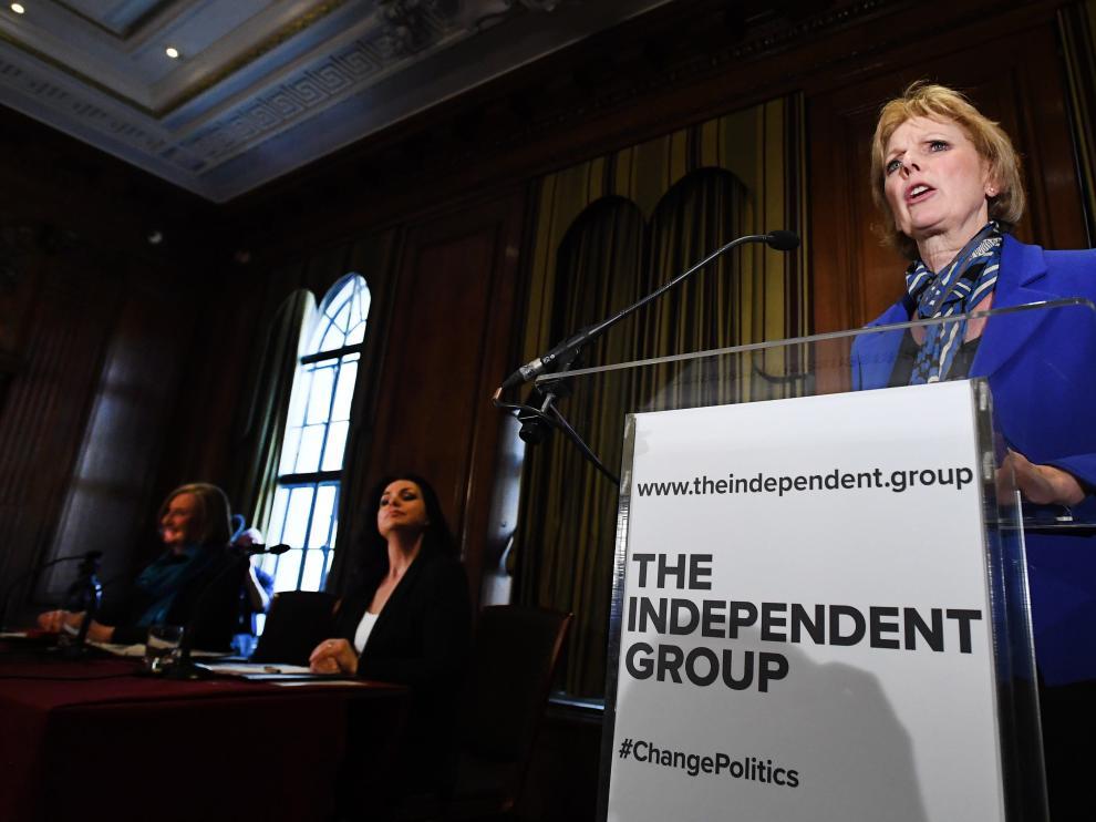 La primera ministra del Reino Unido, la conservadora Theresa May.