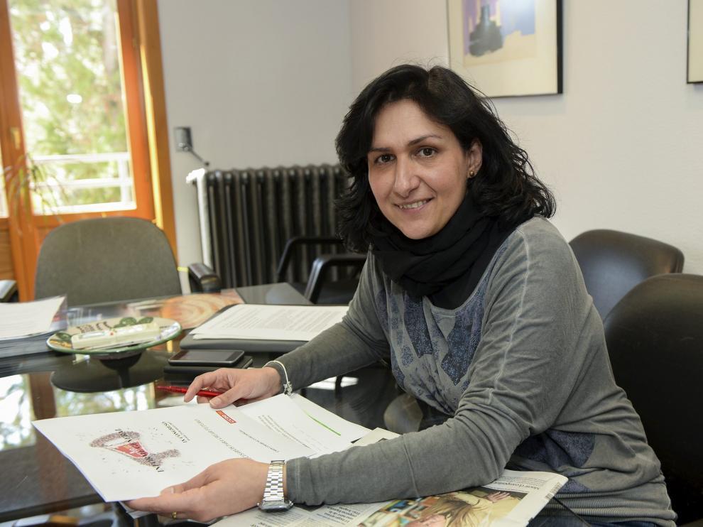 Pilar Buj, secretaria general de CC. OO. en Teruel.