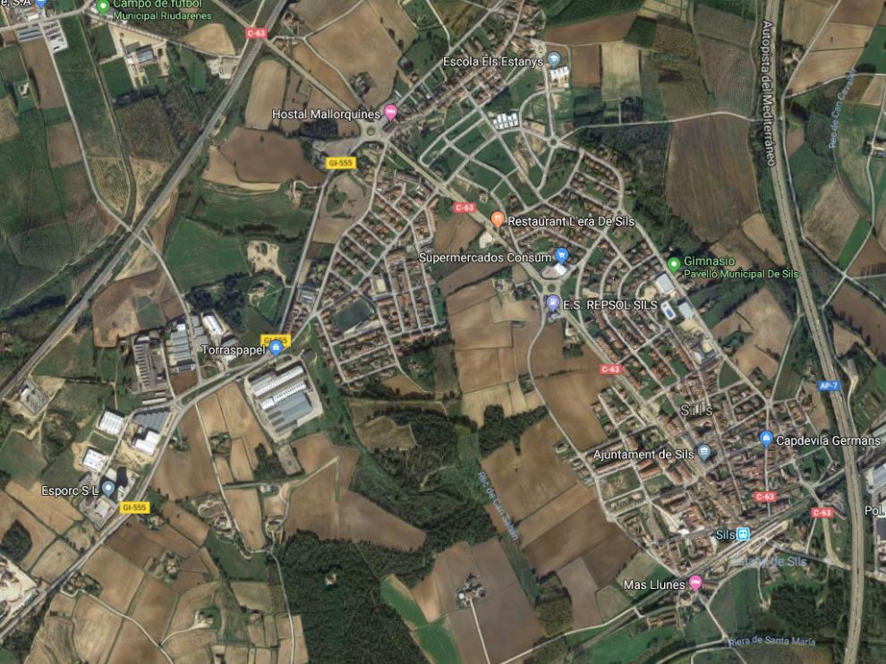 El suceso tuvo lugar en el municipio gerundense de Sils