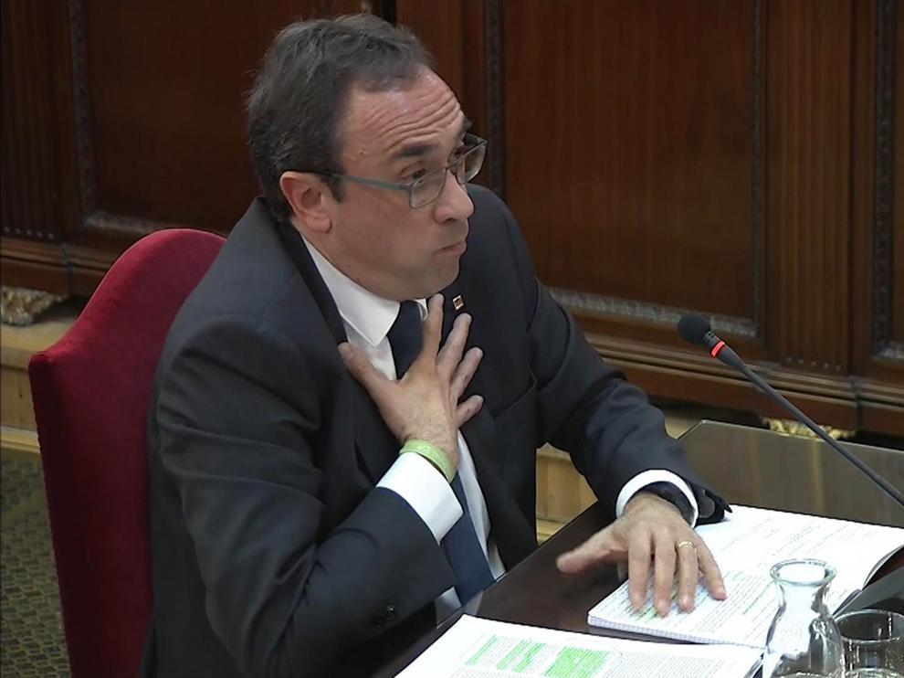 El exconseller de Territorio, Josep Rull.