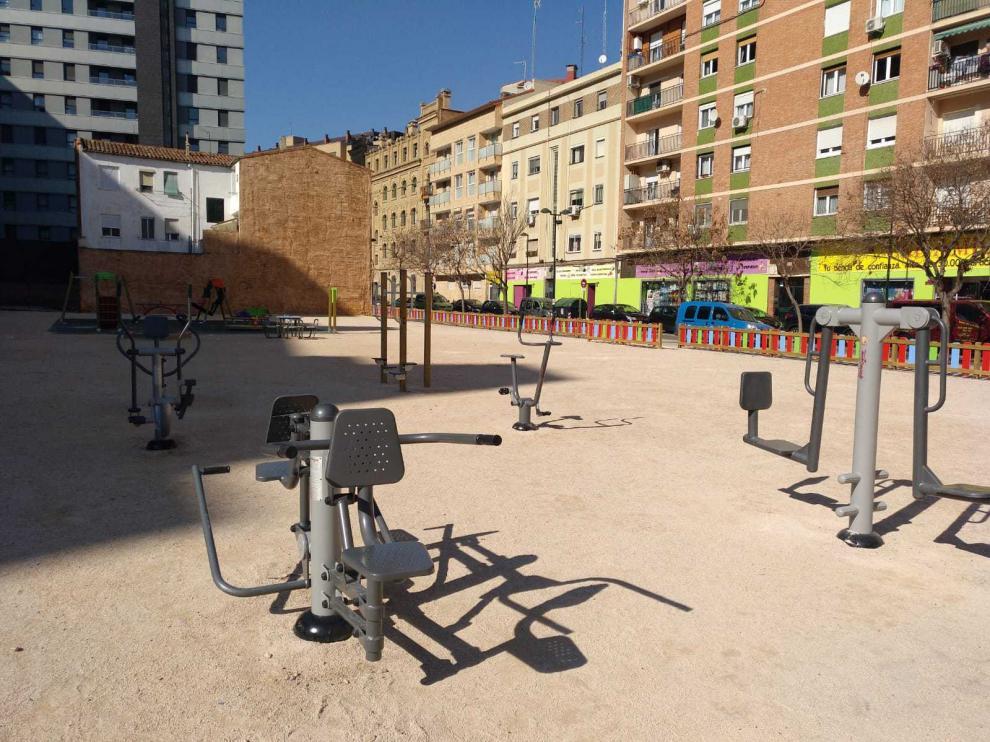 Nueva zona infantil y deportiva en la calle Jesús