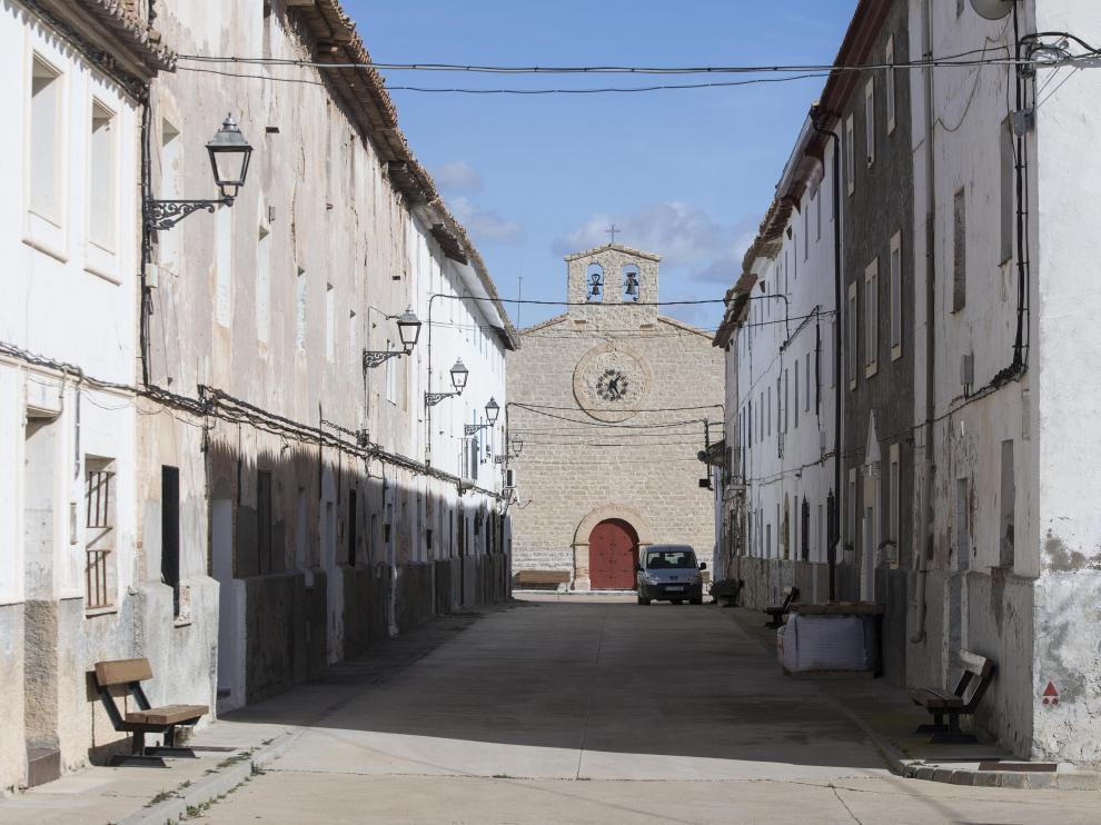 Iglesia San Agustín en Almochuel.