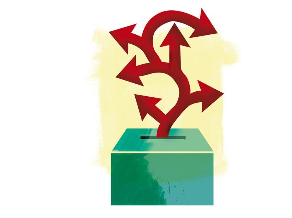 La doble cita electoral debería cursar con menos bronca y más diálogo.