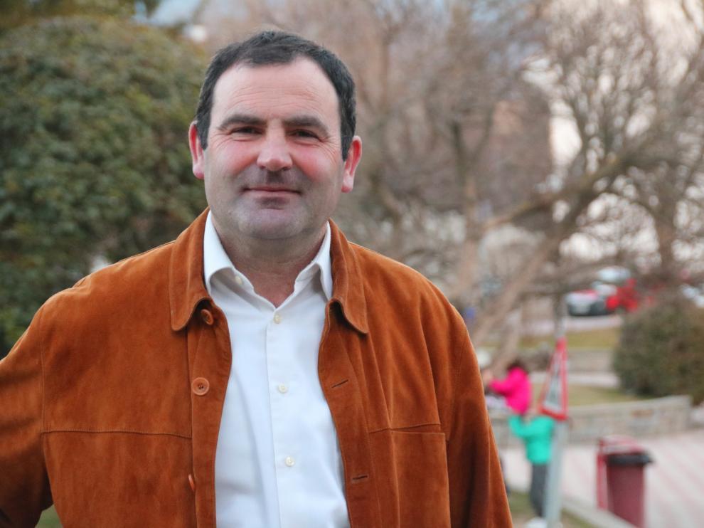 Francisco J. Santolaria, candidato del PP al Ayuntamiento de Sabiñánigo.