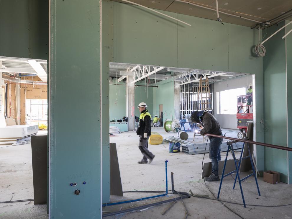 Los trabajos se ejecutan en Pedrola con la intención de que finalicen el próximo verano.