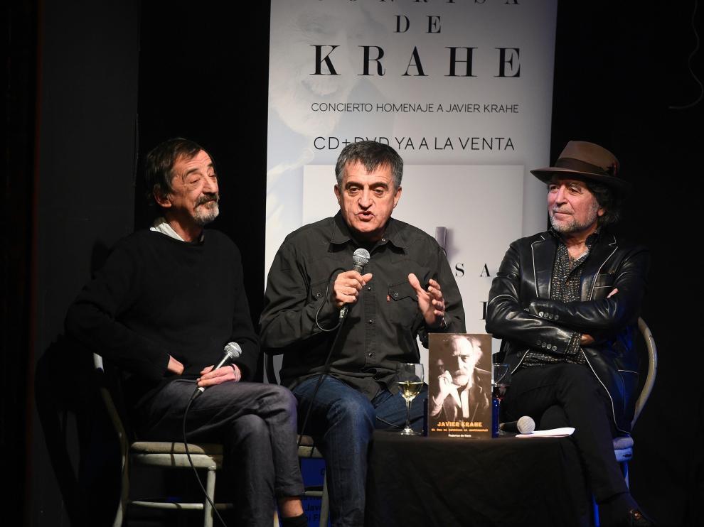 Presentación del disco 'La sonrisa de Krahe'.