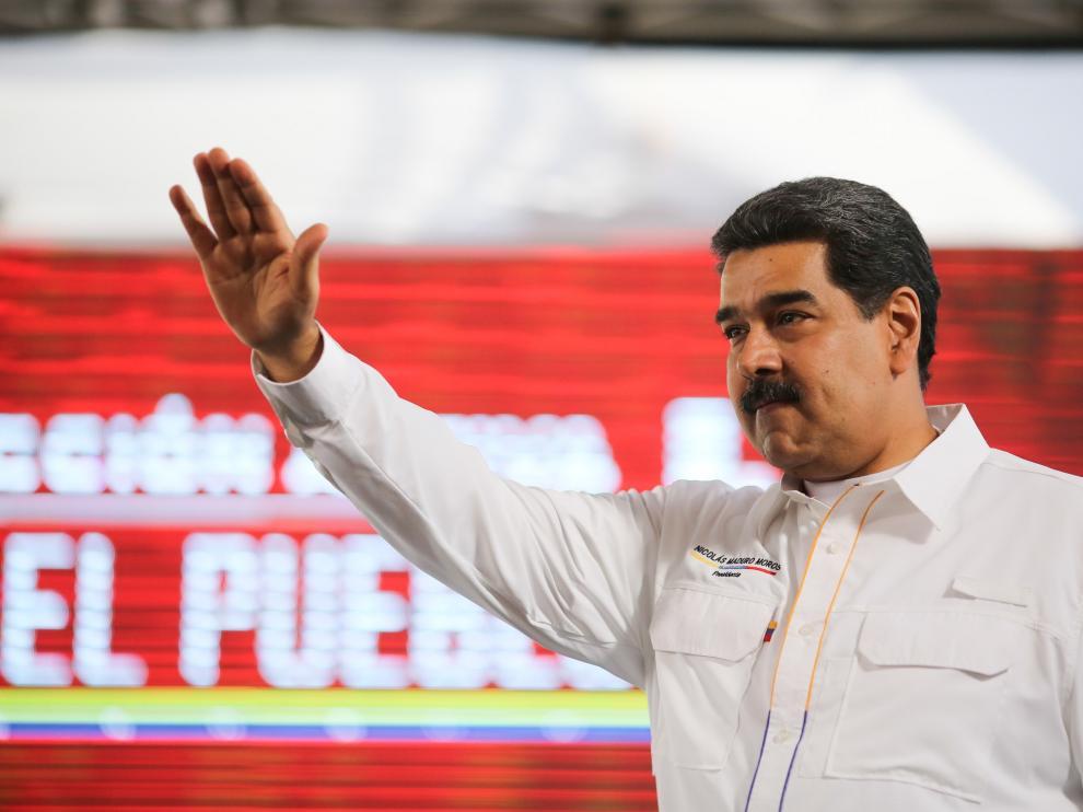 El presidente de Venezuela, Nicolás Maduro, en imagen de archivo.
