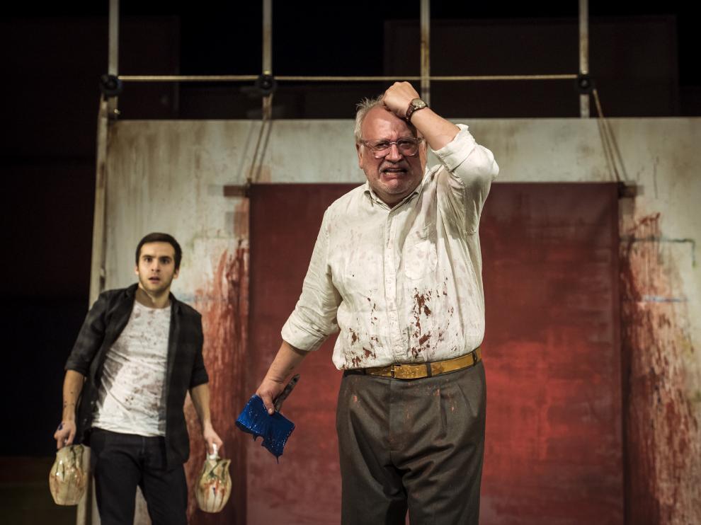 Ricardo Gómez y Juan Echanove protagonizan 'Rojo'.