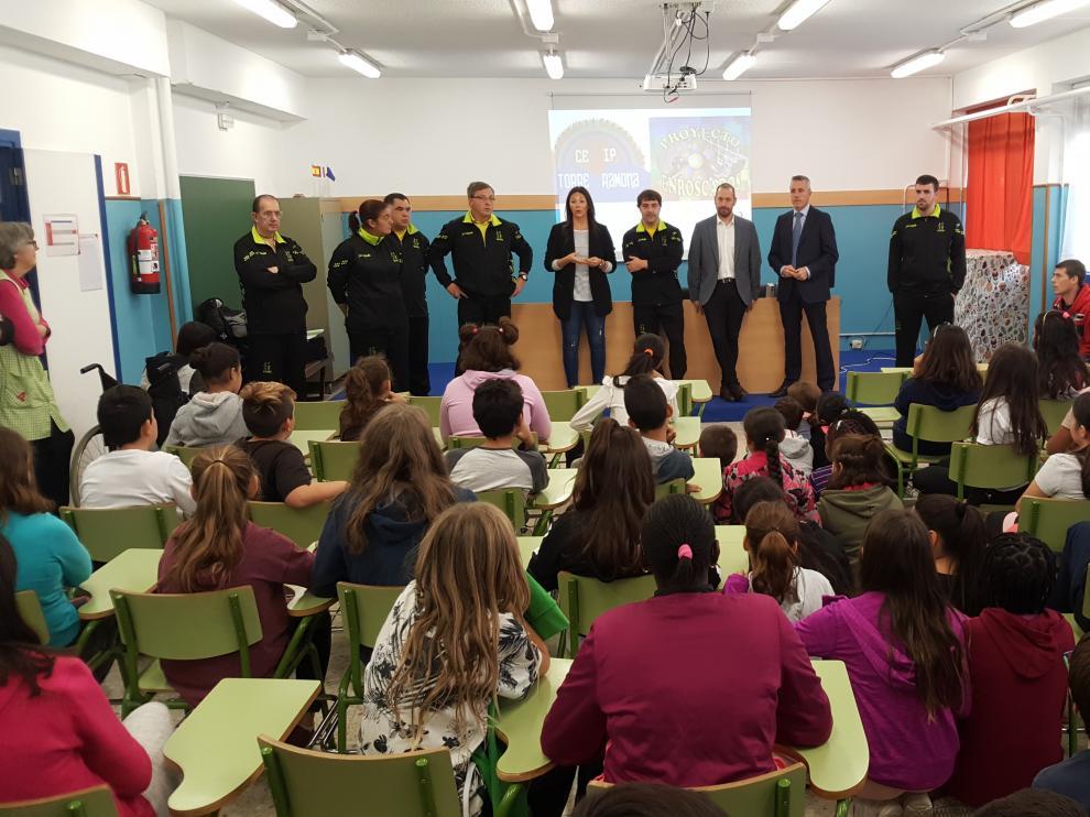 El tercer proyecto de Enroscados se presentó en el CEIP Torre Ramona