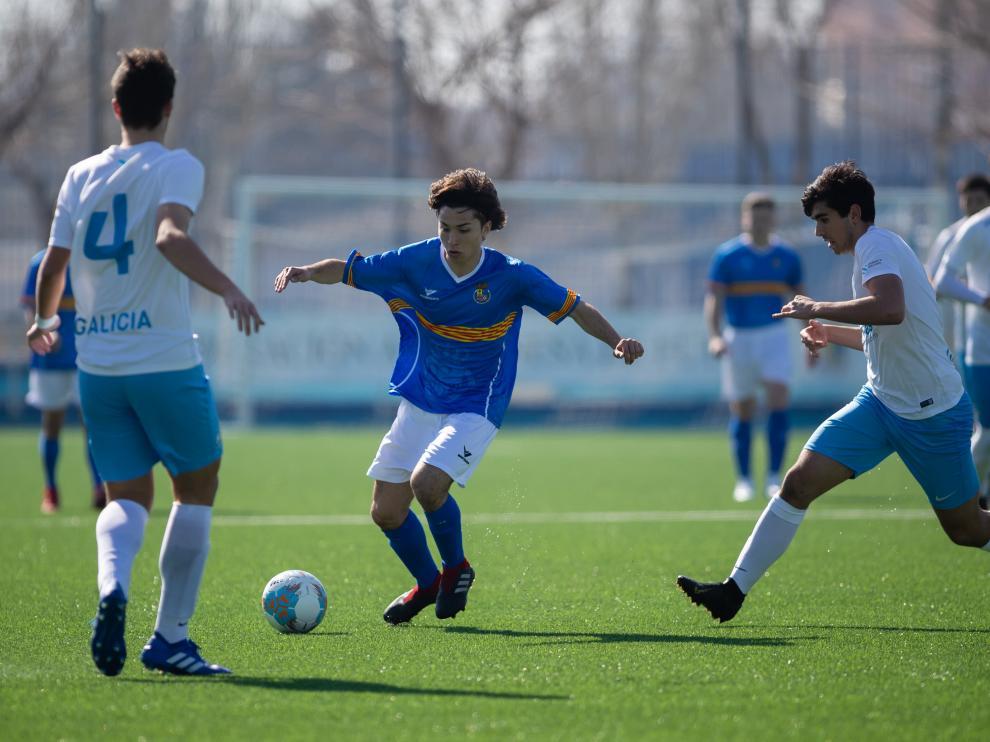 Aragón vs Galicia selección sub 18