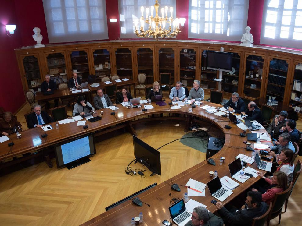 El Consejo de Gobierno de la Universidad de Zaragoza aprobó ayer las plazas universitarias para el curso próximo