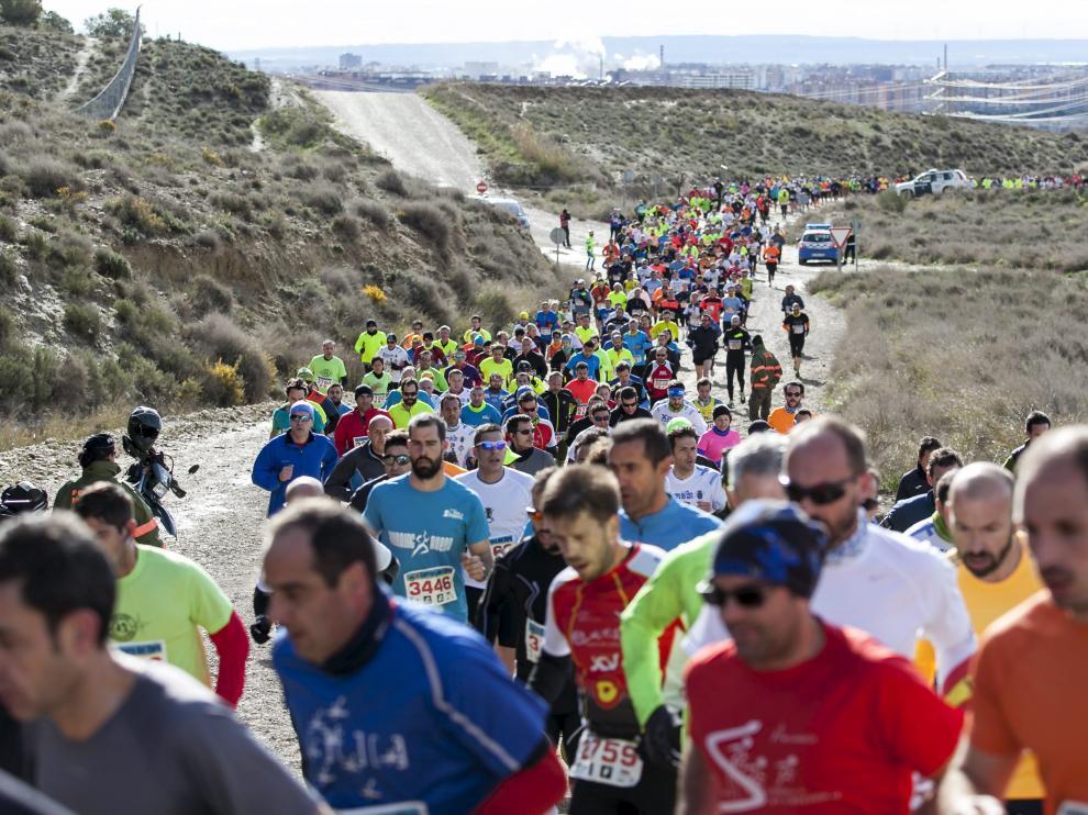 La carrera atravesará el campo de maniobras de San Gregorio.