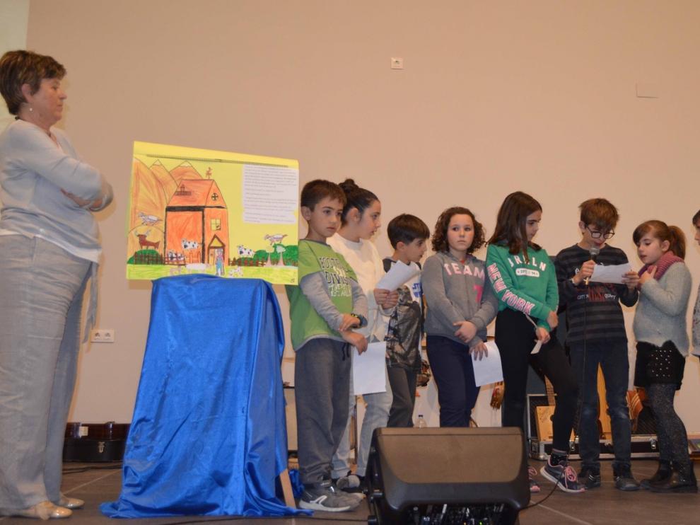 Celebración del Día de la Lengua Materna, en Fonz.