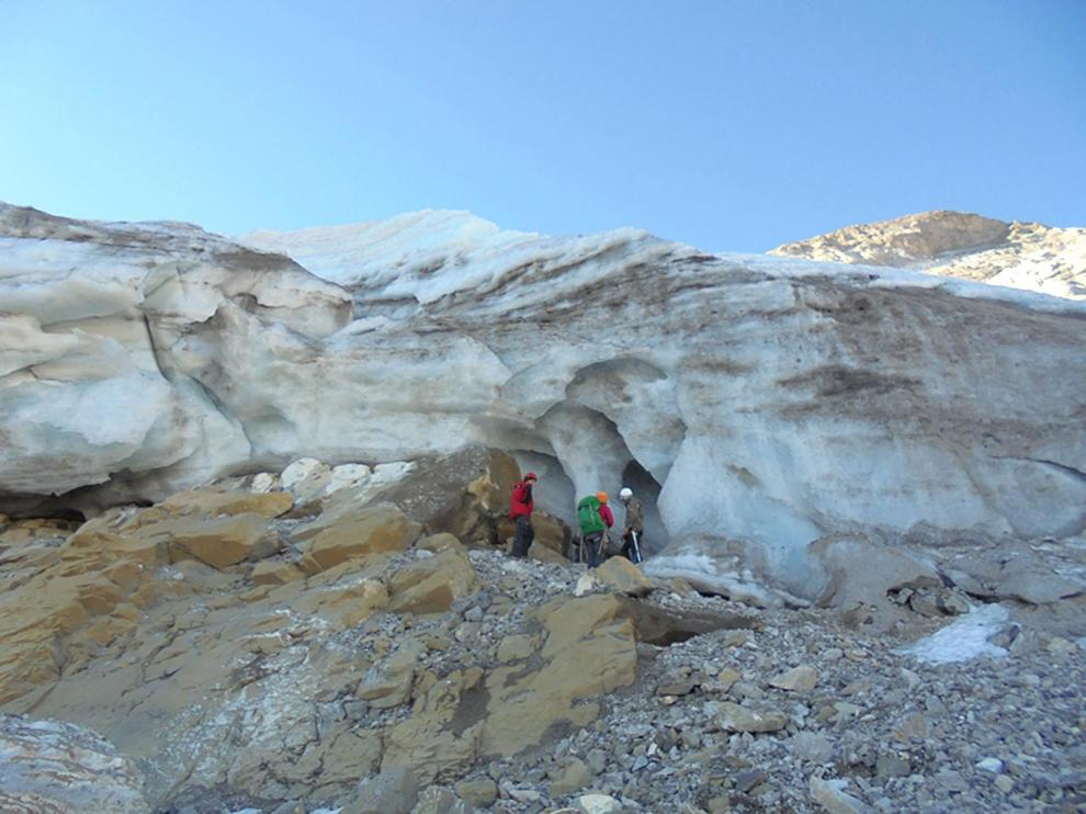 Glaciar de Monte Perdido, sometido desde hace años a mediciones
