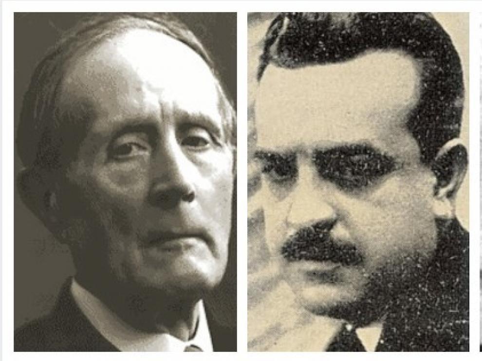 Azorín, García Mercadal y José María Matheu Aybar.