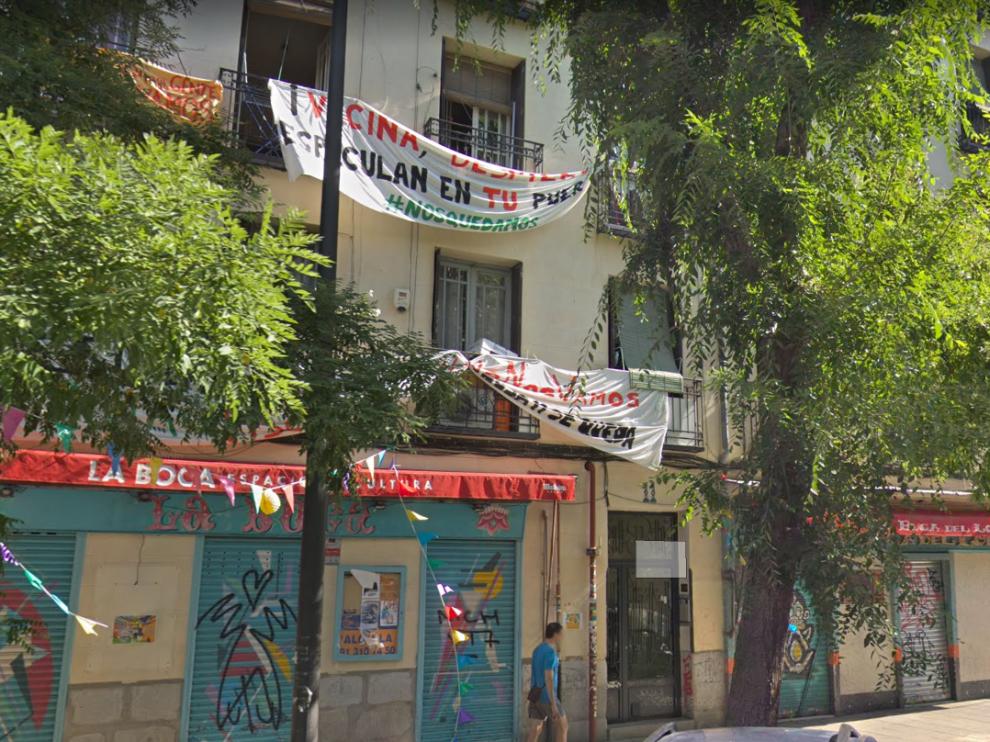 Las cuatro viviendas se encuentran en el número 11 de la calle de Argumosa, en el barrio de Lavapiés.