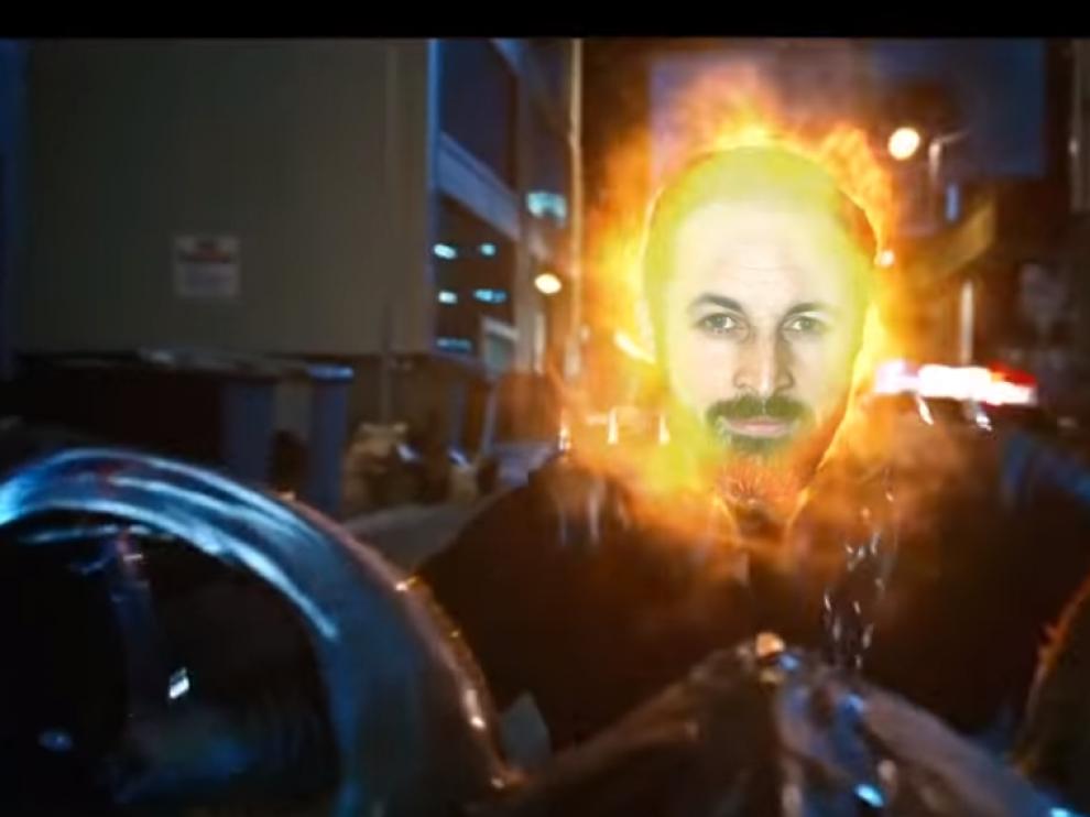 Santiago Abascal, en una parte del videoclip 'Like a Vox'.