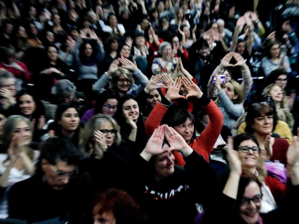 V Encuentro feminista en Valencia para preparar el 8 de marzo