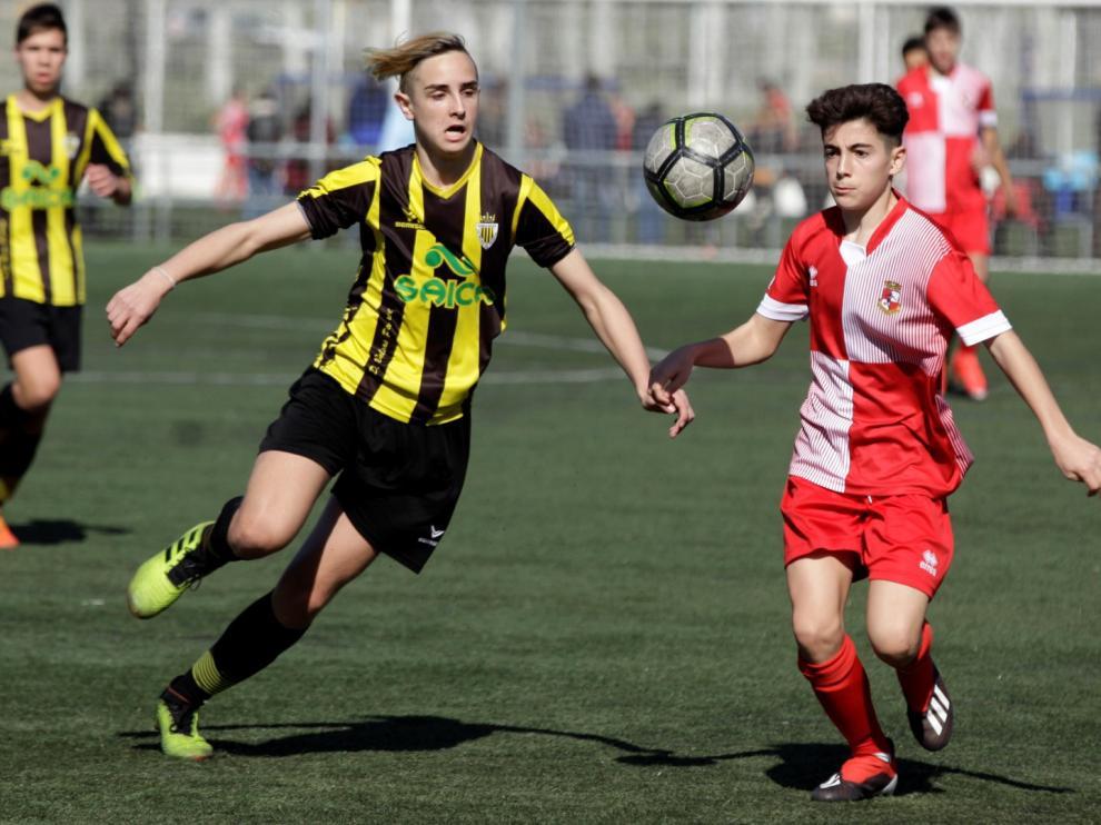 Fútbol. DH Infantil- Actur Pablo Iglesias vs. Balsas.