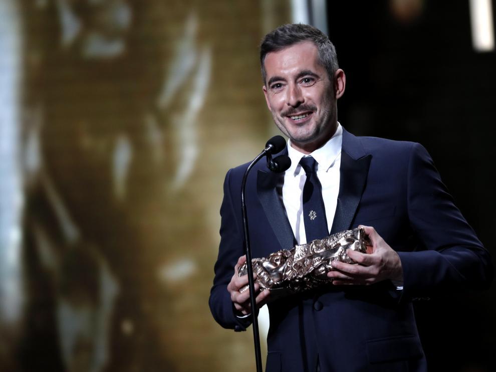El director Xavier Legrand recoge uno de los premios César.