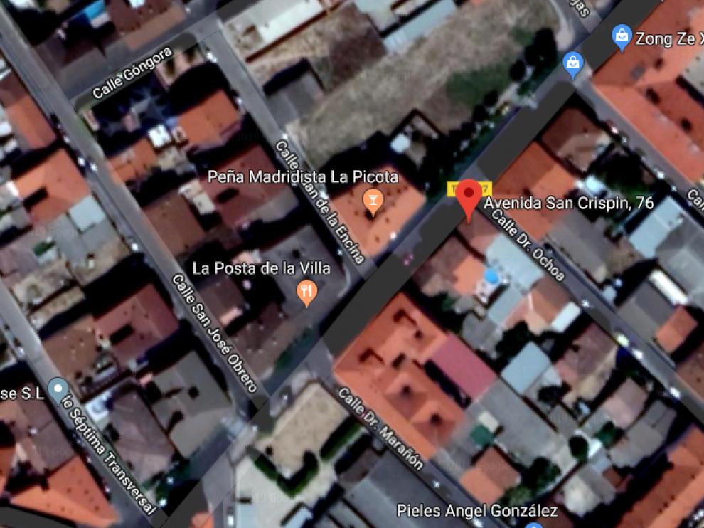 El accidente ha ocurrido en el número 76 de la avenida de San Crispín de Fuensalida (Toledo).