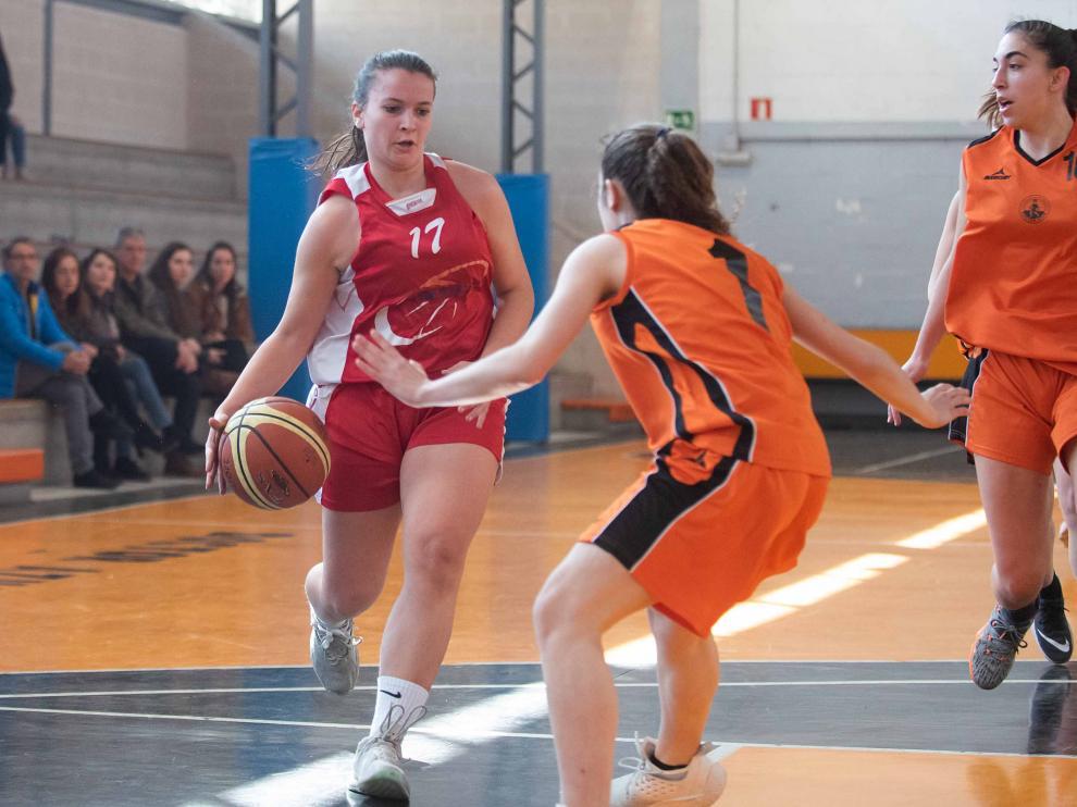 Baloncesto. Junior Femenino- Doctor Azúa vs. Romareda.