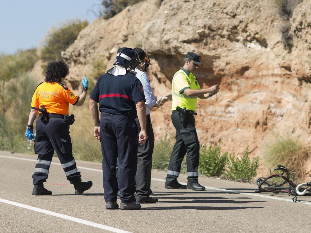 Los atropellos con dos fallecidos, como el ocurrido en Botorrita y del que fueron víctimas dos ciclistas, se podrán castigar con seis años de cárcel.