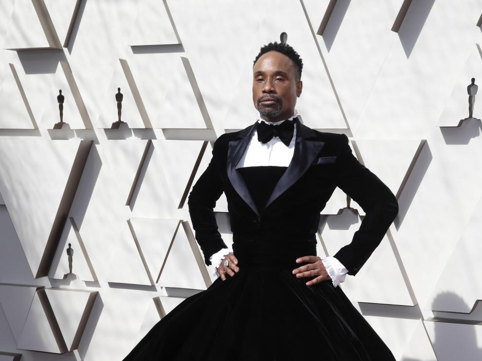 Billy Porter rompe moldes en los Óscar.