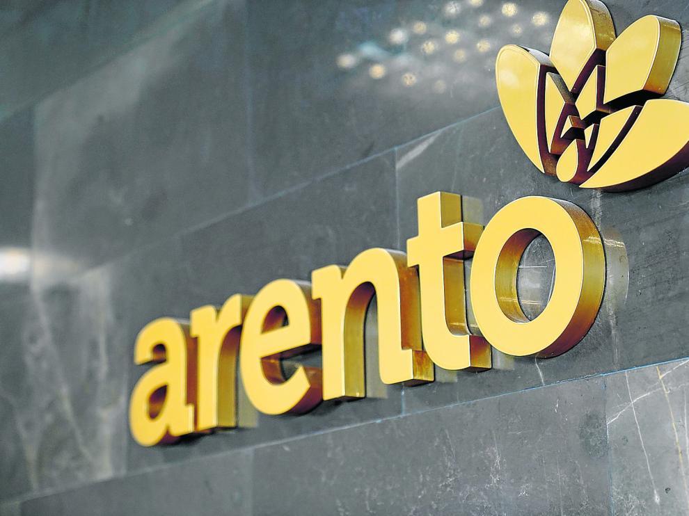 Vista de una de las paredes de la sede central de Arento situada en la plataforma agroalimentaria de Mercazaragoza.