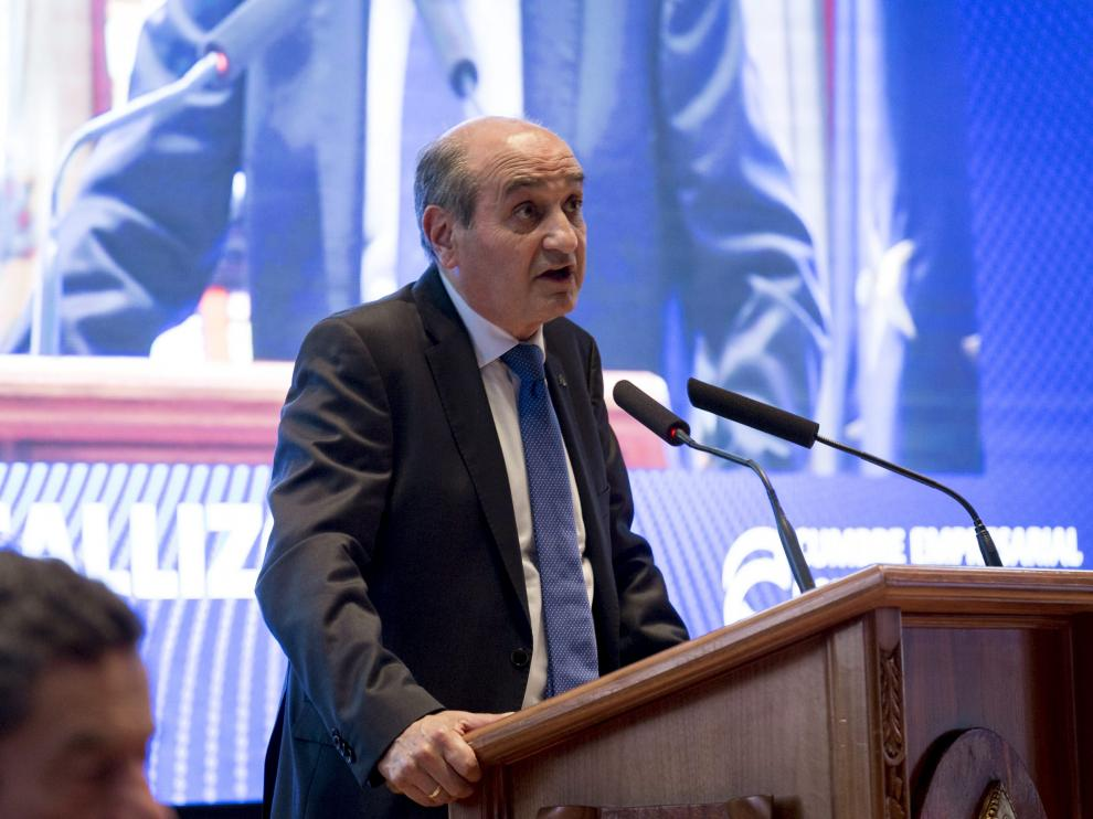 Fernando Callizo en la Cumbre por la Competitividad celebrada el pasado año en Zaragoza