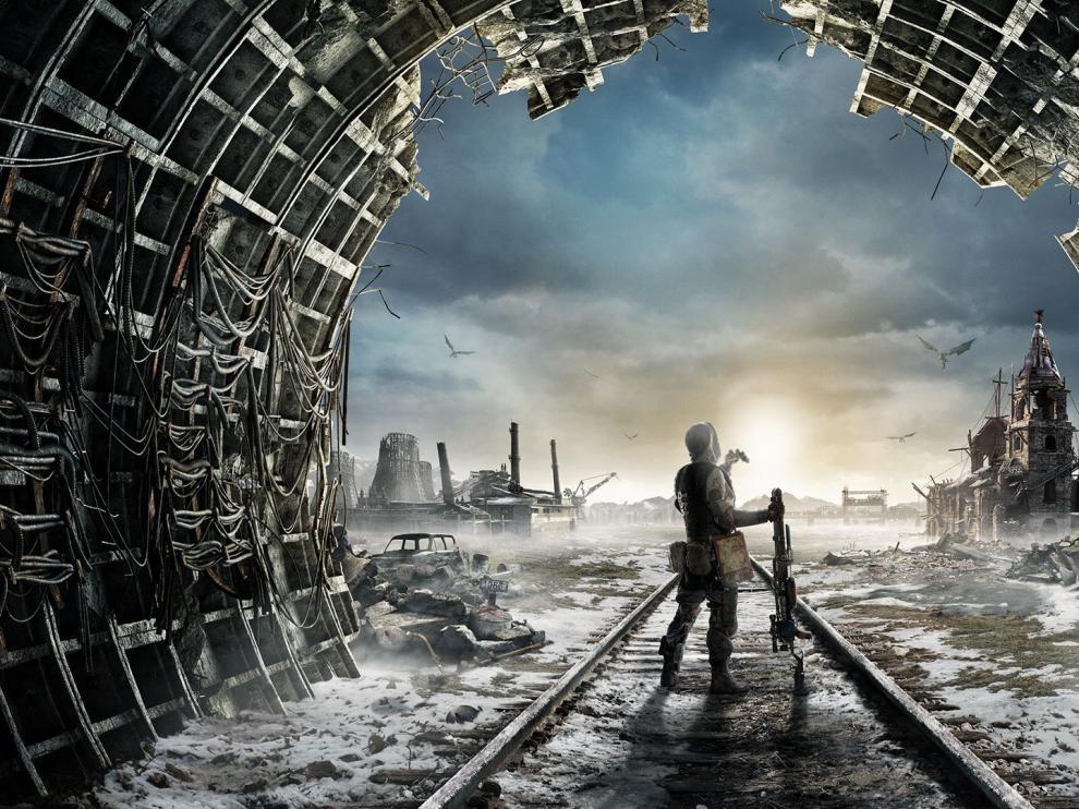 Imagen promocional del videojuego 'Metro Exodus'.