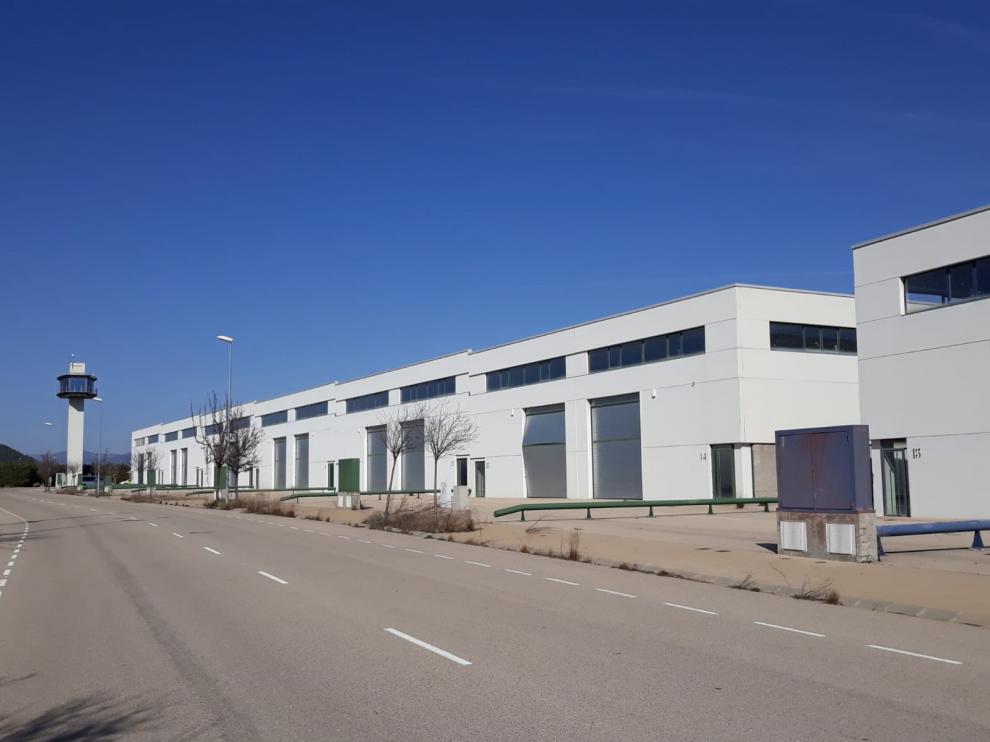 El polígono industrial de Ayerbe pretende dinamizar el municipio.