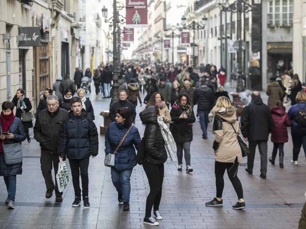 Alta polución por partículas en Zaragoza.