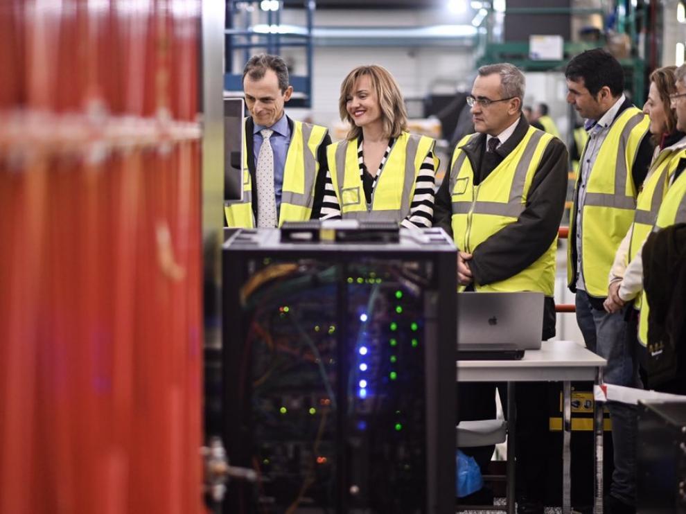 Visita del ministro Pedro Duque al Laboratorio Subterráneo y a la estación de Canfranc