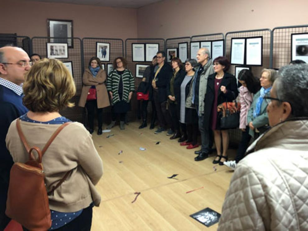 La exposición se inauguró el pasado viernes, en el Ayuntamiento de Alborge.