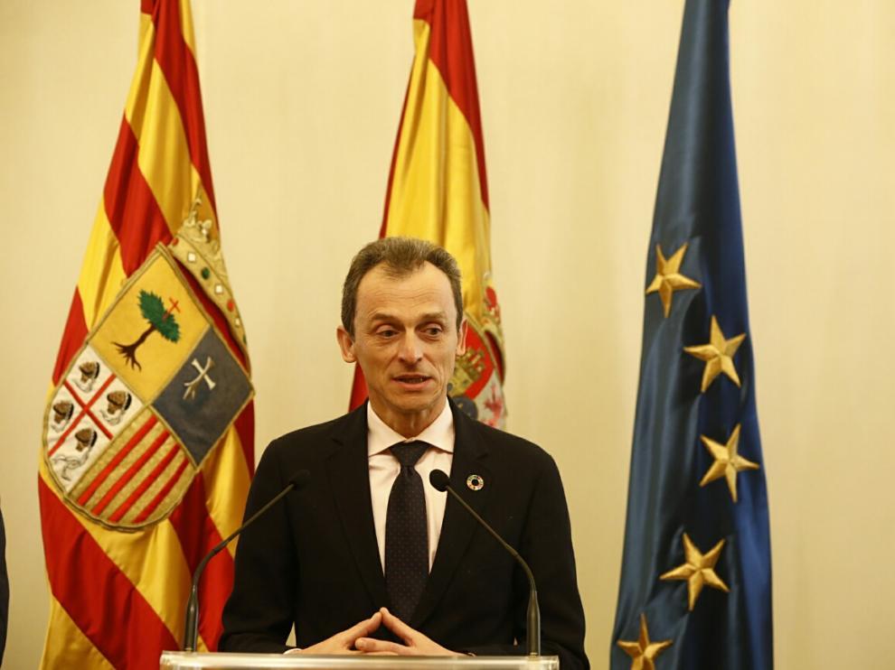 Pedro Duque visita Zaragoza