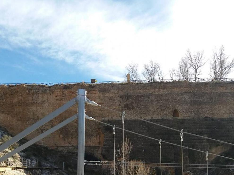 Las pasarelas serán inauguradas el próximo día 7 de marzo.