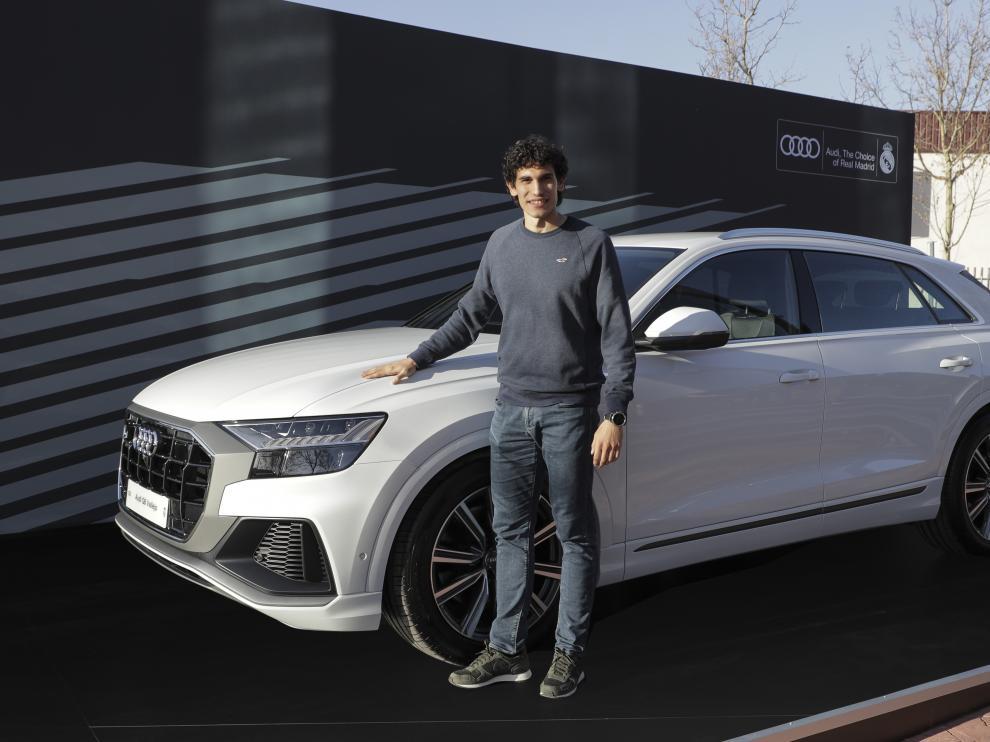 Jesús Vallejo conducirá un Audi Q8