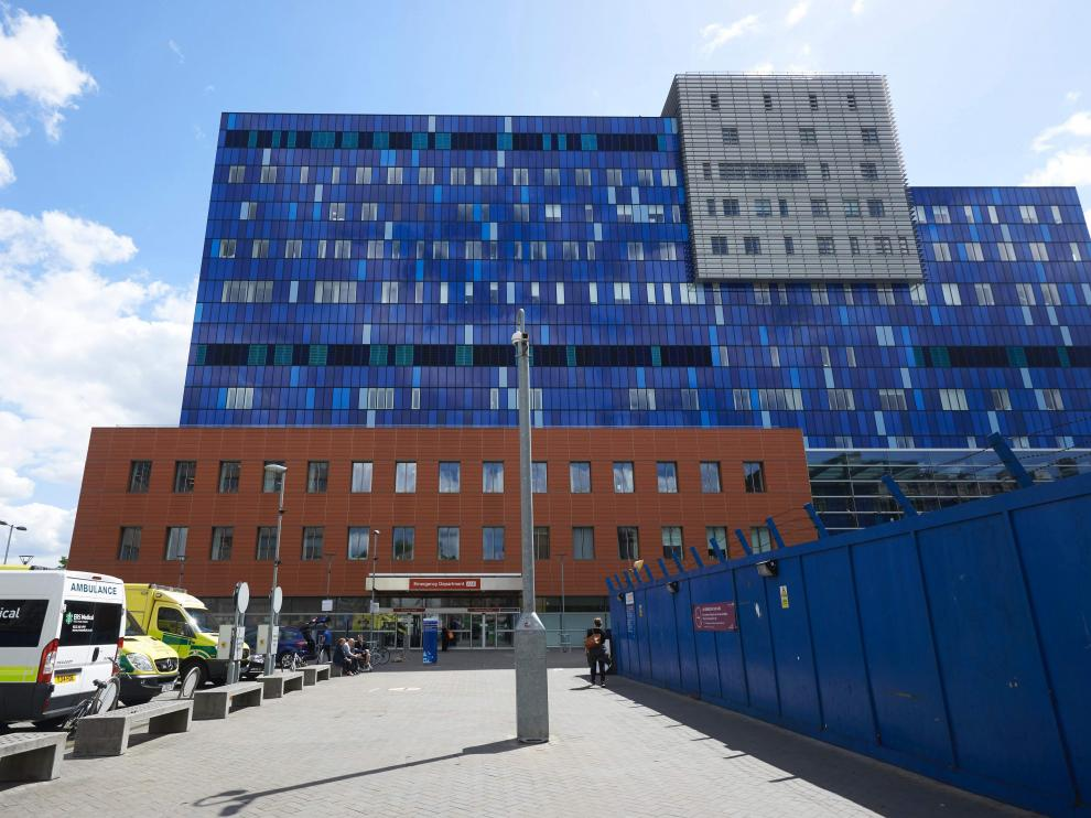 El Royal London Hospital de Londres, en una imagen de 2017.  The unprecedented global cyberattack has hit more than 200,000 victims in scores of countries, Europol said on May 14, 2017, warning that the situation could escalate when people return to work. In Britain, the attack disrupted care at National Health Service facilities, including The Royal London Hospital, part of the largest NHS Trust in England.   / AFP PHOTO / Niklas HALLE'N [[[AFP]]] BRITAIN-CYBER-ATTACKS-HEALTH