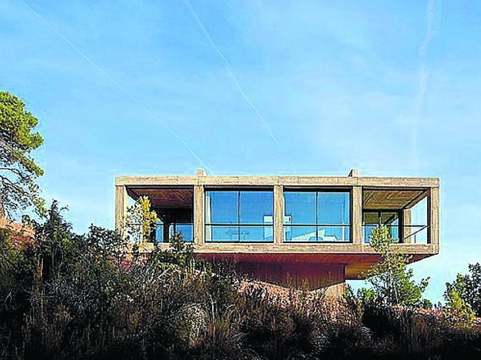 La Casa Pezo, de Solo Houses, en los Puertos de Beceite.