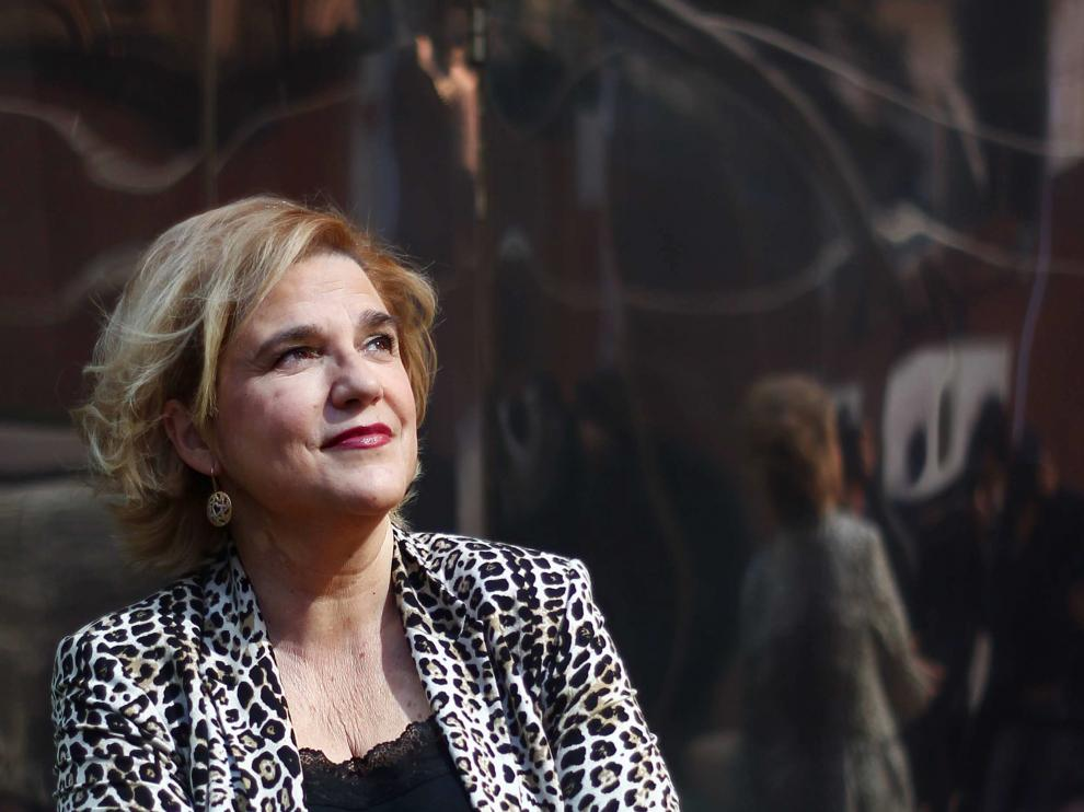 La tertuliana Pilar Rahola.