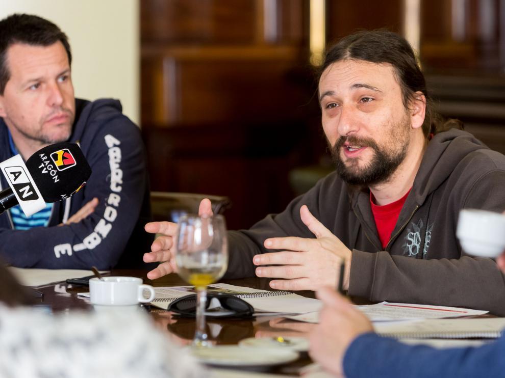 Pablo Híjar, concejal de Deportes del Ayuntamiento de Zaragoza.