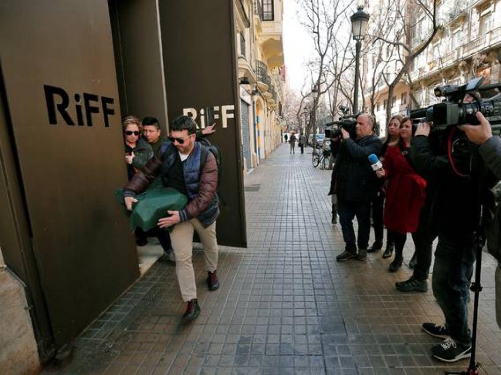Imagen del restaurante Riff, cerrado en Valencia.