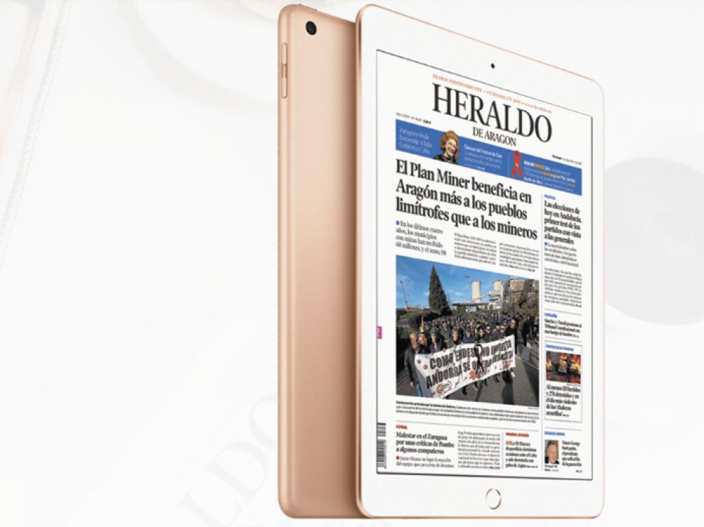 Suscríbete a HERALDO y llévate un iPad de regalo