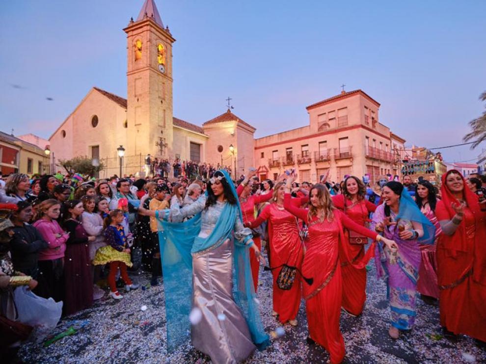 Una imagen del carnaval de Gines el pasado domingo, publicada por el Ayuntamiento de esta localidad sevillana.