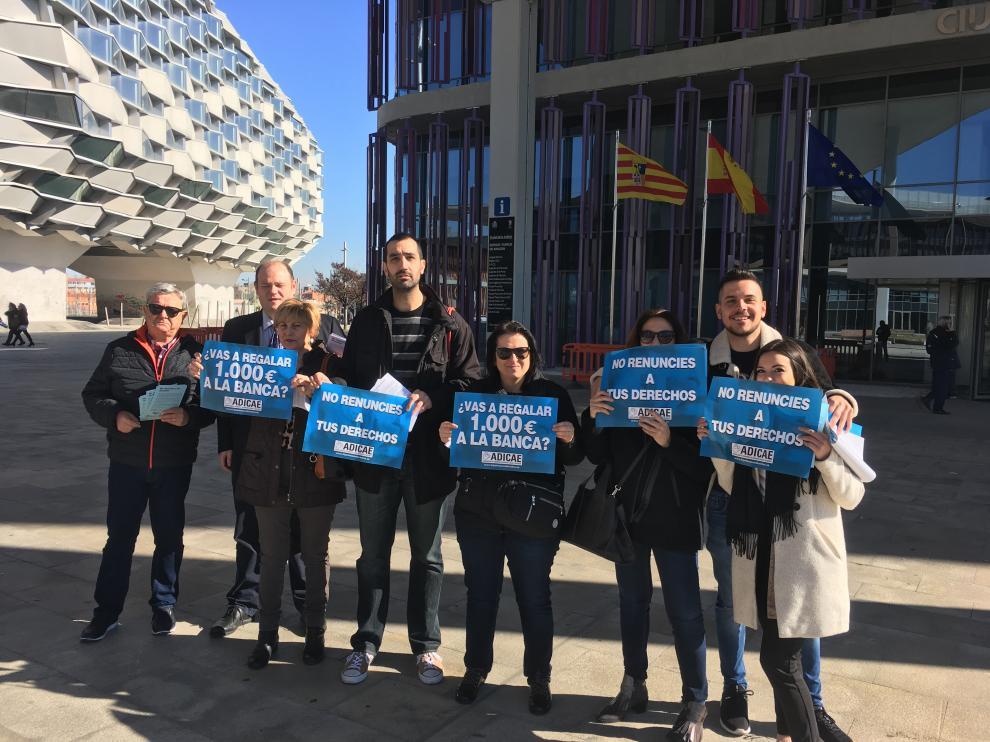 La organización ha presentado su denuncia en Zaragoza este miércoles.