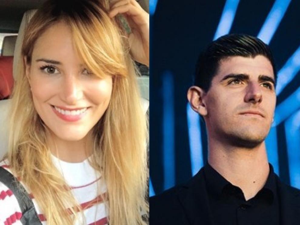 Alba Carrillo y Thibaut Courtois, nueva pareja.