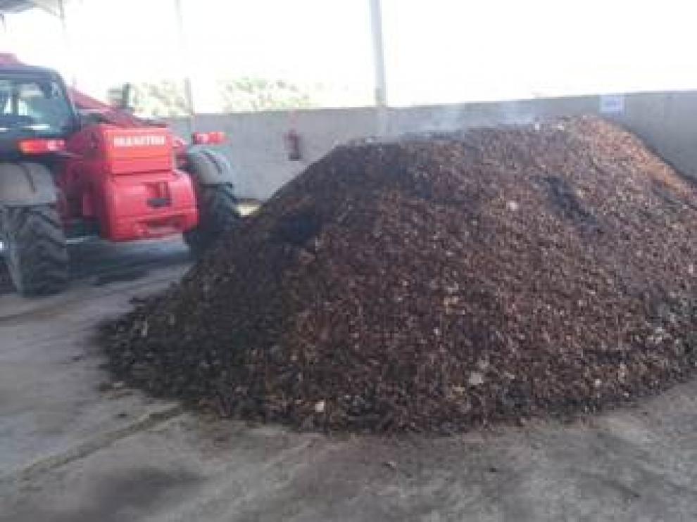 La planta de compostaje se sitúa en Peñarroya.