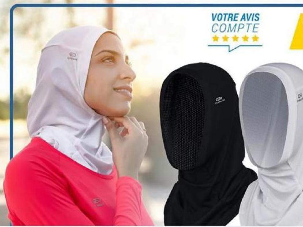El polémico hiyab de Decathlon