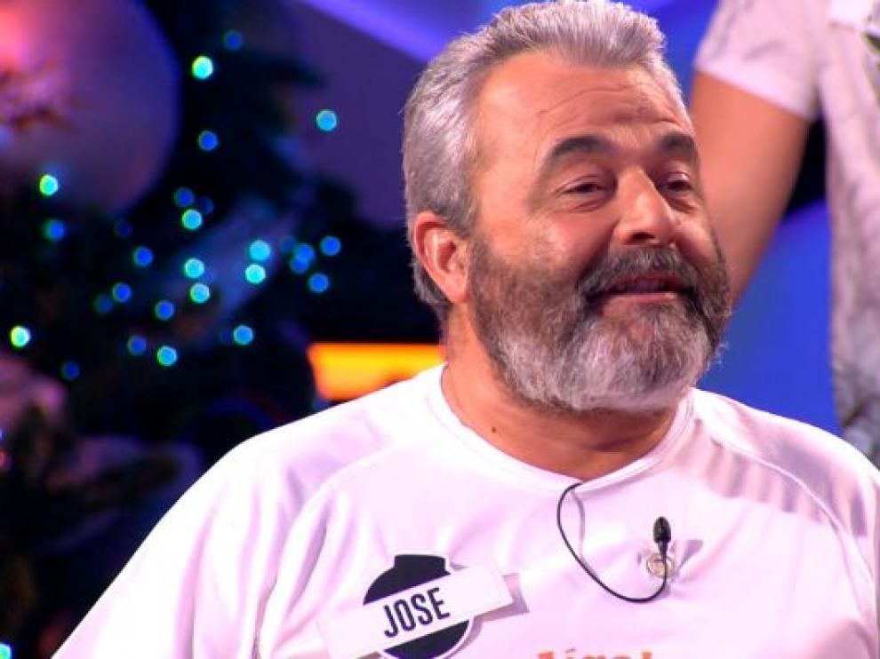 José Pinto, durante un programa de 'Boom'.